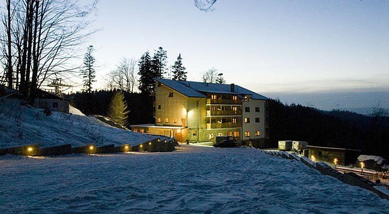 Chata Cucoriedka - Wielka Racza, Słowacja - Białe szkoły